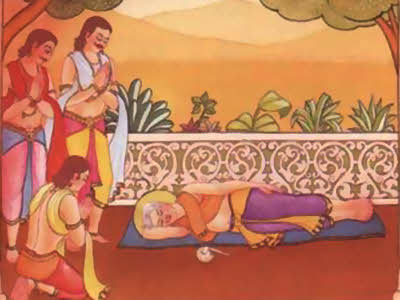 Ninth Incarnation as a physician Jivananda