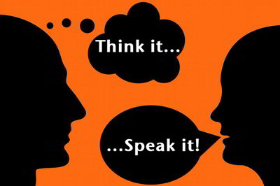 Speak after thinking