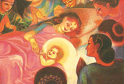 Thirteenth Incarnation   The birth of Rsabha